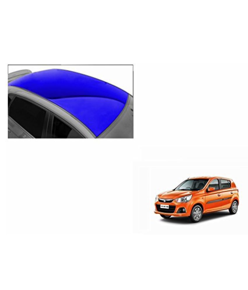 Speedwav Car Roof Glossy Wrap Sheet Blue-Maruti Alto K10 Type 2 (2014-2015)