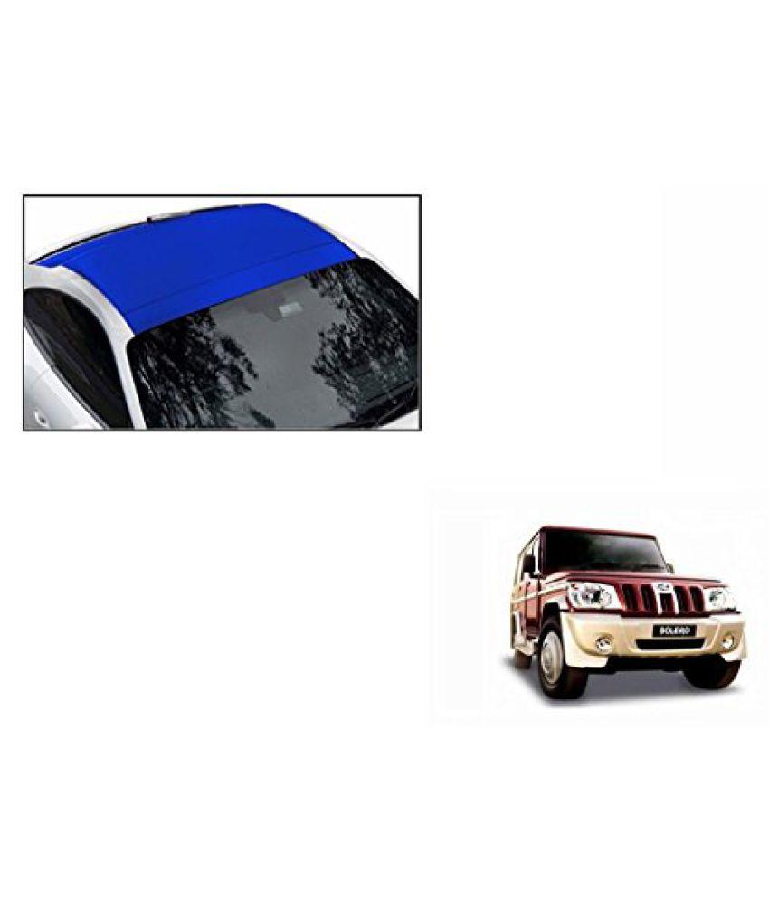 Speedwav Car Roof Wrap Sheet Matt Blue-Mahindra Bolero Type 1 (2001-2007)