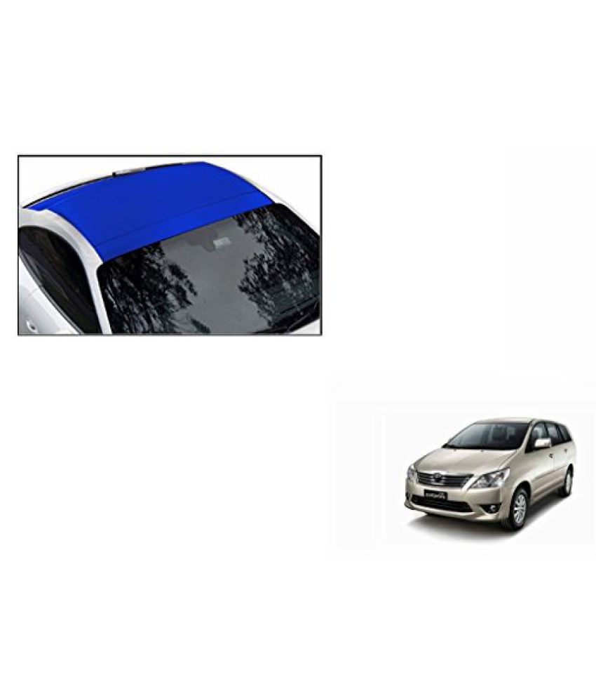 Speedwav Car Roof Wrap Sheet Matt Blue-Toyota Innova Type 2 (2009-2011)