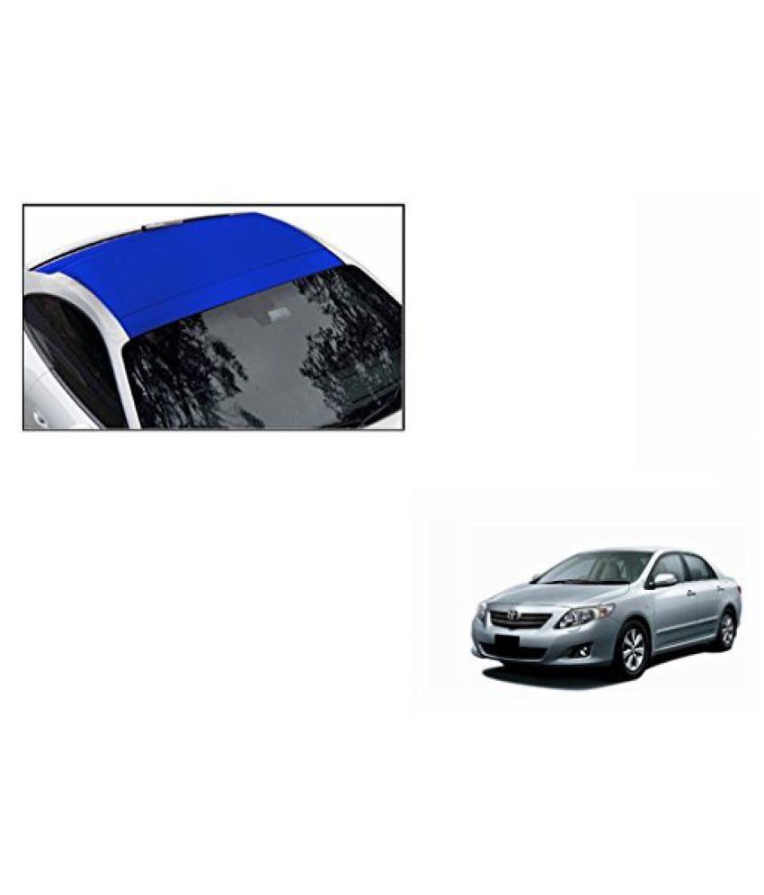 Speedwav Car Roof Wrap Sheet Matt Blue-Toyota Corolla Altis Type 1 (2012-2013)