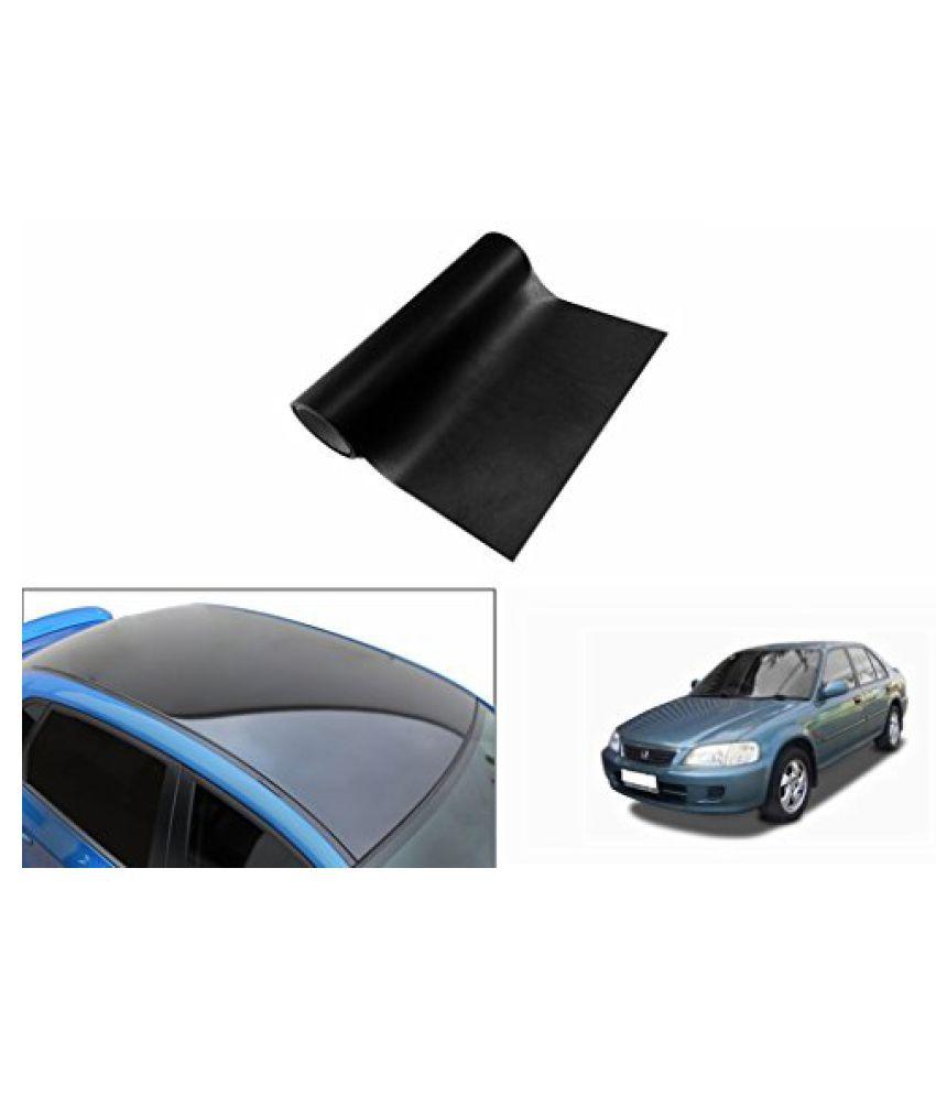 Speedwav Car Roof Wrap Sheet Glossy Black-Honda City 1.3/1.5 Type 2 (2002-2005)