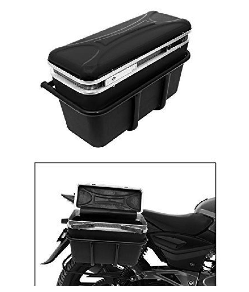 Speedwav DLB-1 Bike Double Lock Luggage Box Black- For Bikes
