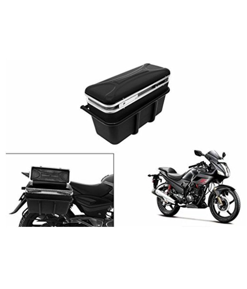Speedwav DLB-1 Bike Double Lock Luggage Box Black-Hero Karizma R