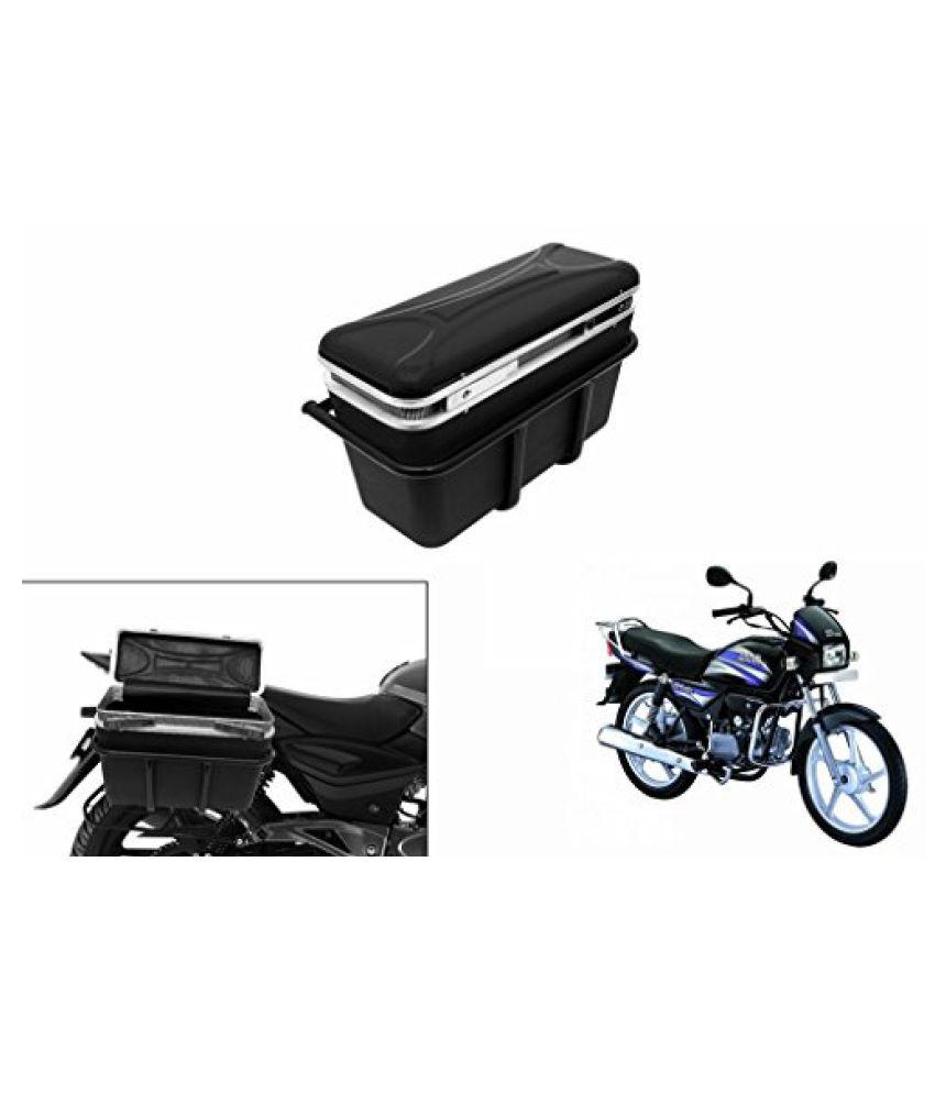 Speedwav DLB-1 Bike Double Lock Luggage Box Black-Hero Splendor Pro