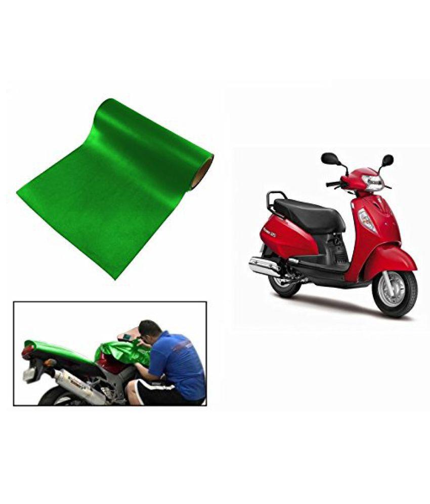 Speedwav Matt Green 3 Meter Scooter Wrap Sheet-Suzuki Access SE