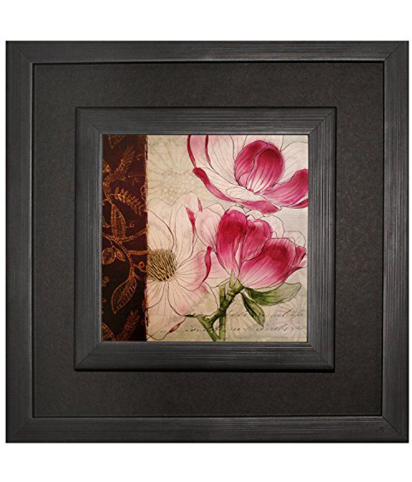SAF Double Frame Canvas Coated Wall Painting (Acrylic, 12 x 2 x 12 inches)