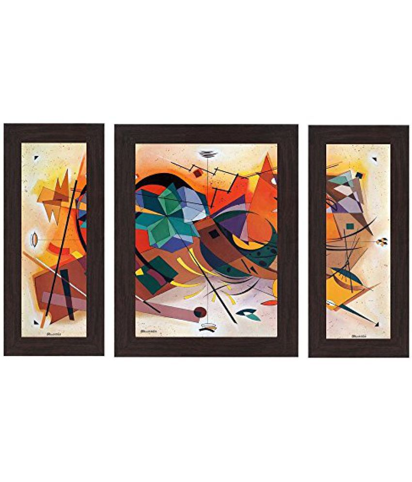 Wens 'Colourful Hues' Wall Art (MDF, 29.5 cm x 24.5 cm, WSP-4256)