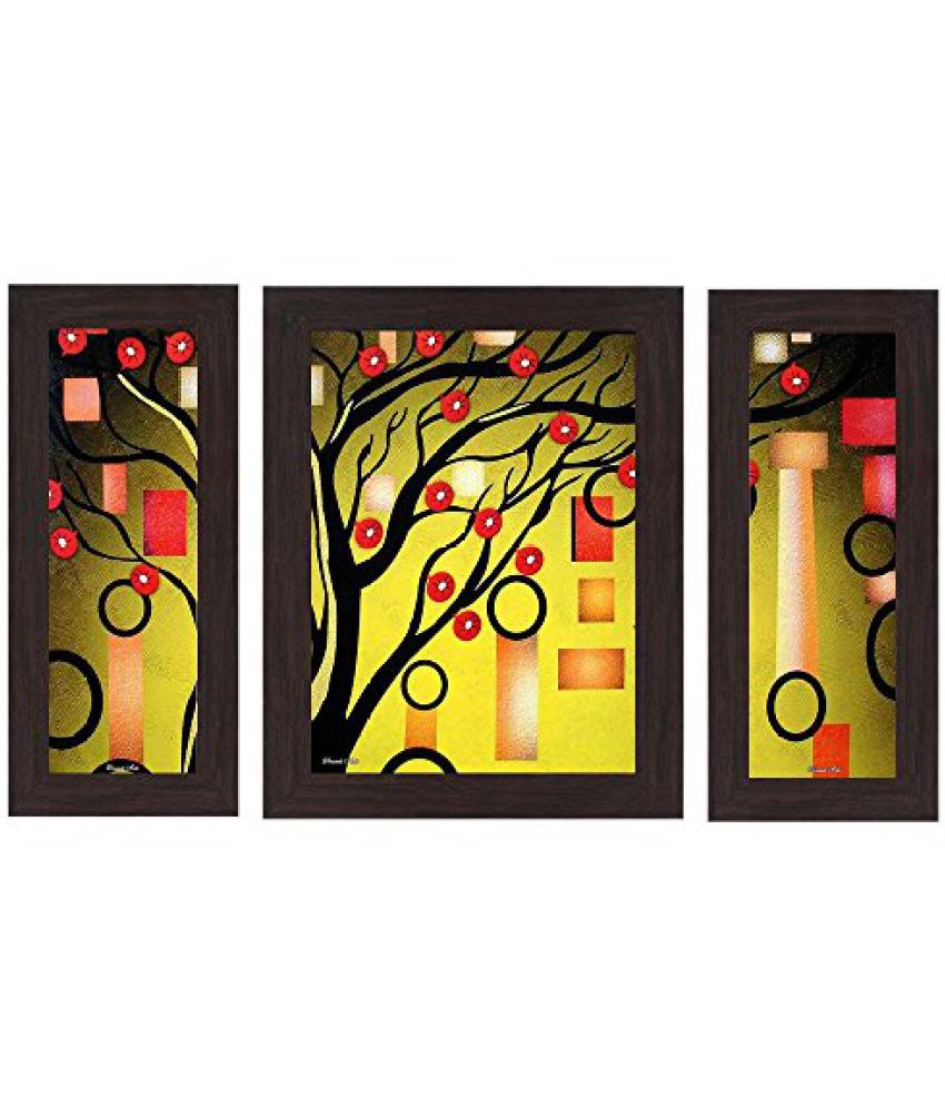 Wens 'Lightened Art' Wall Art (MDF, 29.5 cm x 24.5 cm, WSP-4219)