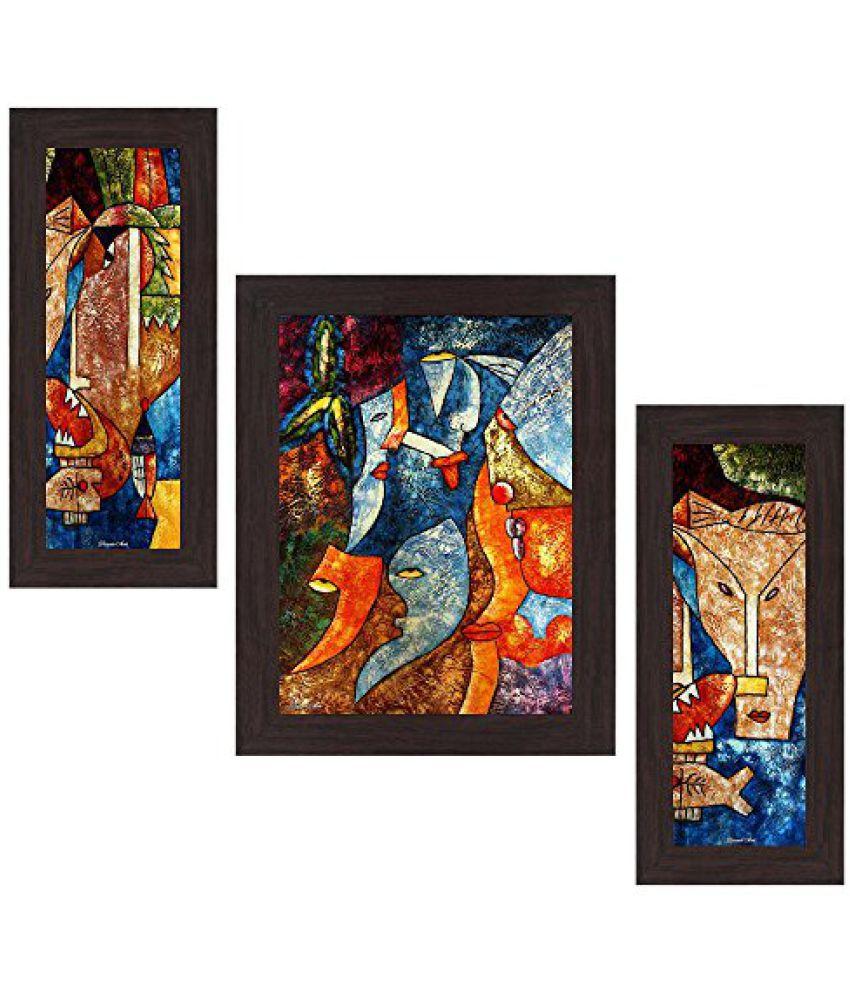 Wens 'Modern Fusion' Wall Art (MDF, 29.5 cm x 24.5 cm, WSP-4238)