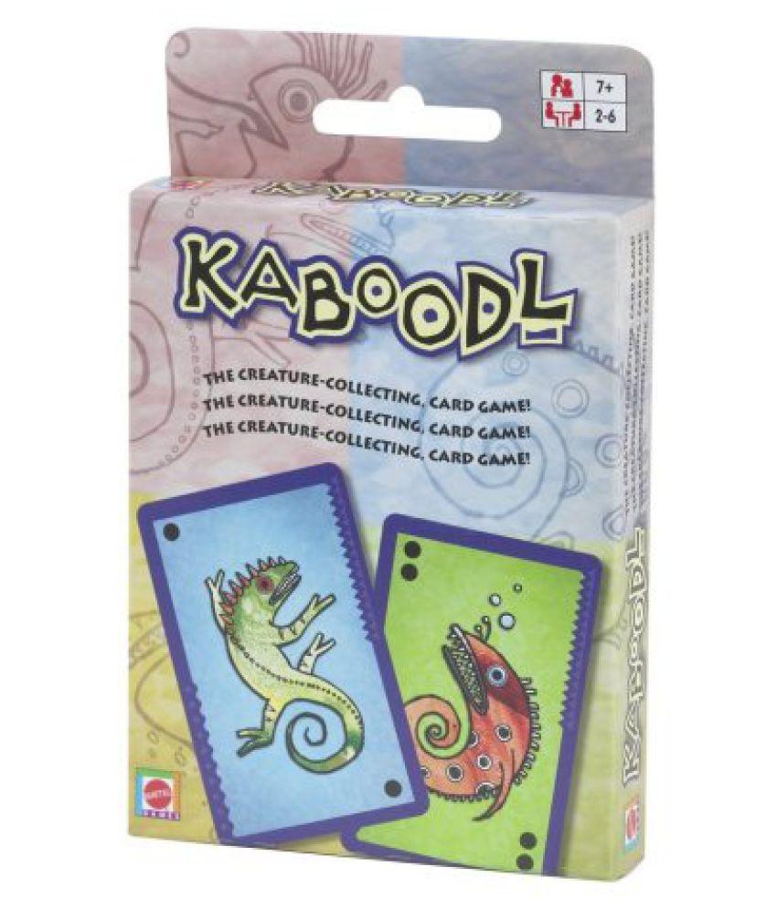 Kaboodl Card Game