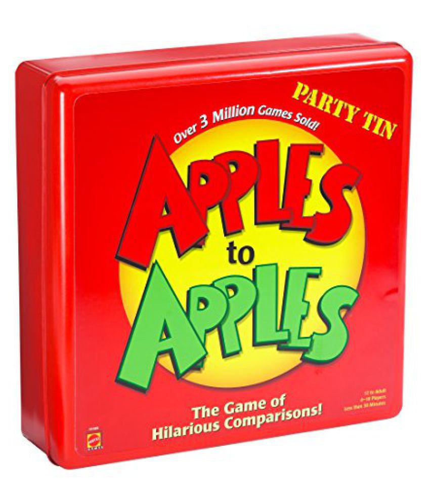 Mattel: Apples to Apples: Party Box - Deluxe Metal CaseMattel: Apples to Apples: Party Box - Deluxe