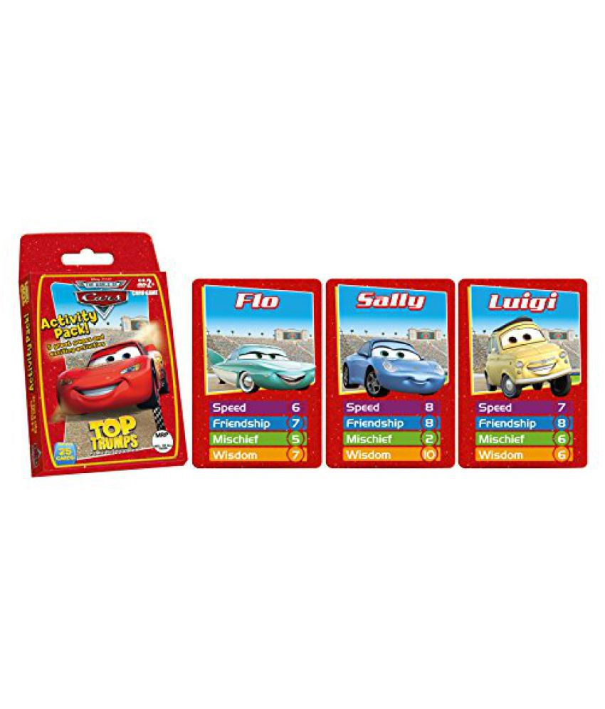 Top Trumps Cars Activity Pack, Multi Color