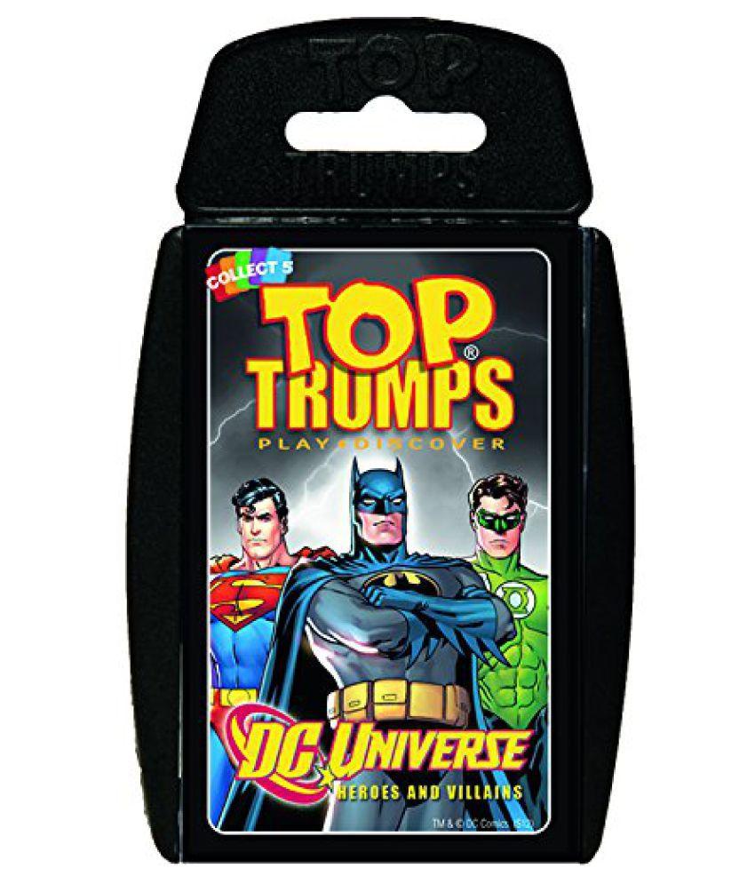 Top Trumps DC Universe Heroes & Villains