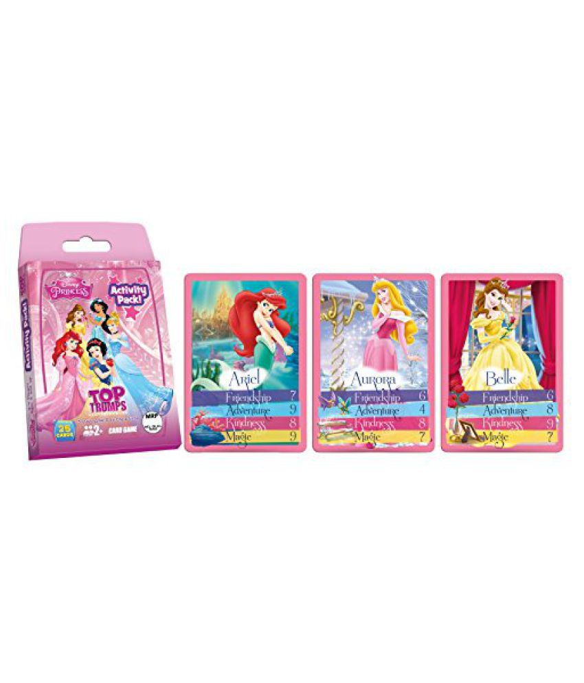 Top Trumps Disney Princess Activity Pack, Multi Color