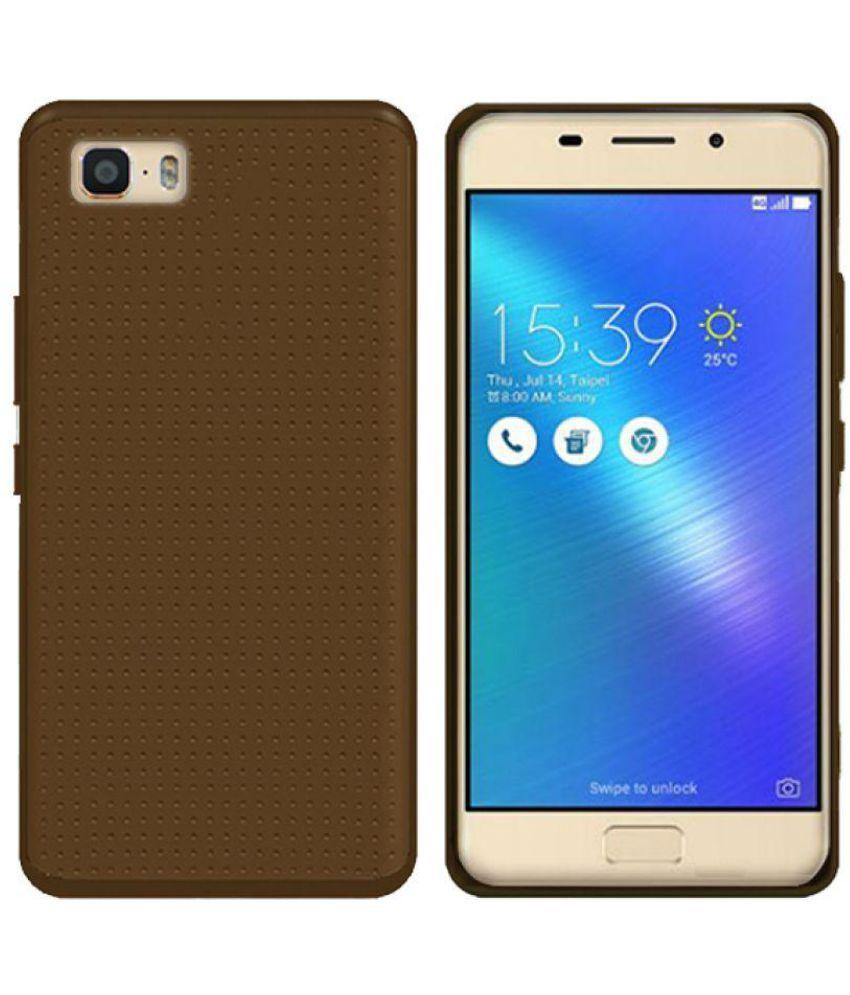 competitive price c8816 edd8a Asus Zenfone 3s Max ZC521TL Soft Silicon Cases Knotyy - Brown