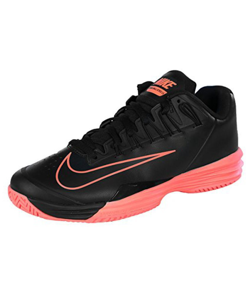 b2750ce9bba Nike Men s Court Lunar Ballistec 1.5 Tennis Shoe-Black Hot Lava - Buy Nike  Men s Court Lunar Ballistec 1.5 Tennis Shoe-Black Hot Lava Online at Best  Prices ...