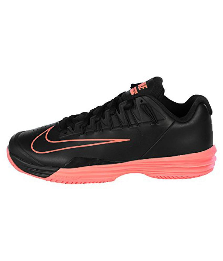5066f0585b54 Nike Men s Court Lunar Ballistec 1.5 Tennis Shoe-Black Hot Lava - Buy Nike  Men s Court Lunar Ballistec 1.5 Tennis Shoe-Black Hot Lava Online at Best  Prices ...