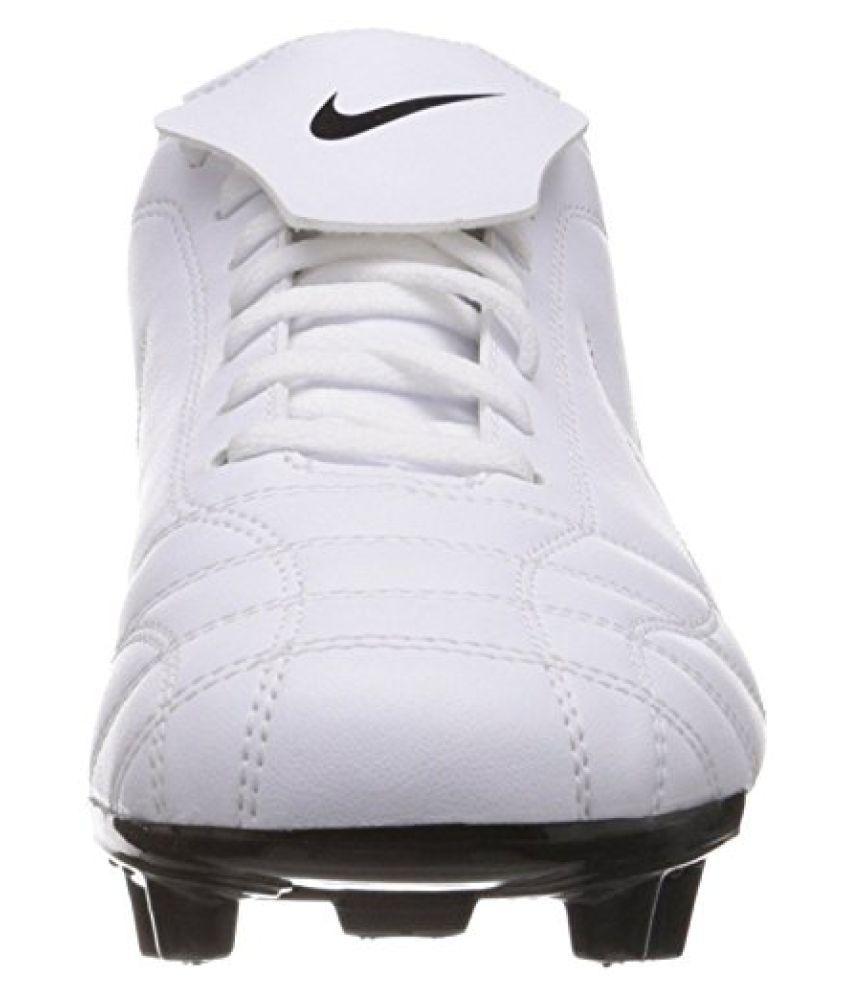 outlet store 75ae5 223d6 ... Nike Men s Egoli Fg White,Black Football Boots -11 UK India ...