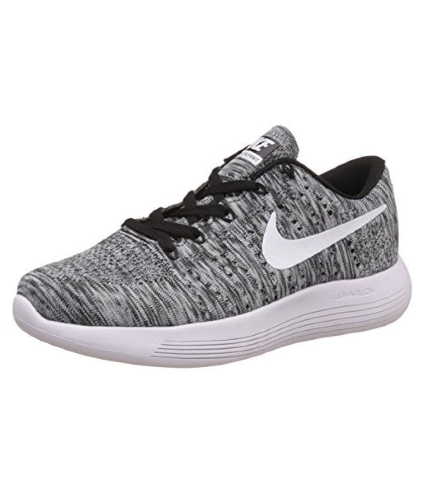 new products 031b3 d7a55 Nike Men's Lunarglide 8 Black Running Shoes - 10 UK/India ...