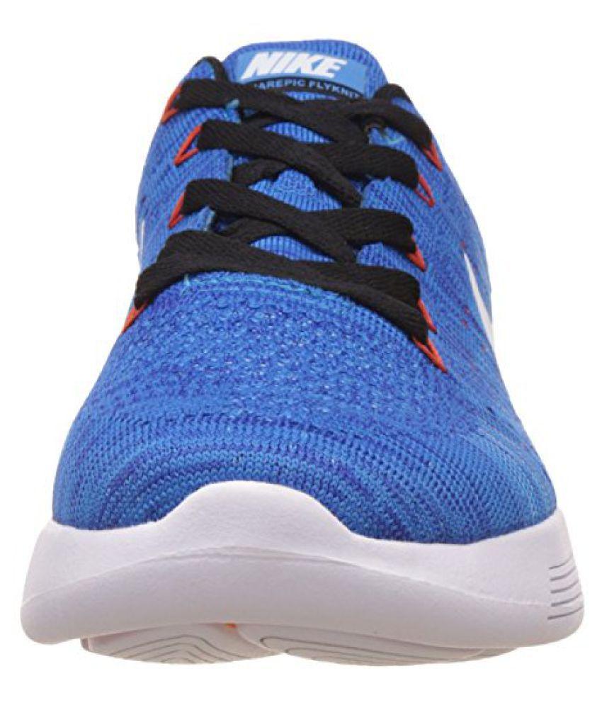 2abe4905ee43 ... Nike Men s Lunarglide 8 Blue Running Shoes - 9 UK India (44 EU) ...