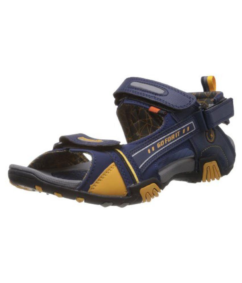 c11e3abba0e Sparx Mens Navy Blue and Yellow Sandals and Floaters - 7 UK (SS-430) - Buy  Sparx Mens Navy Blue and Yellow Sandals and Floaters - 7 UK (SS-430) Online  at ...