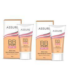 Suri Laboratory ASSURE BB Sunscreen Cream SPF 30 PA+ Medium 30 Gm Pack Of 2