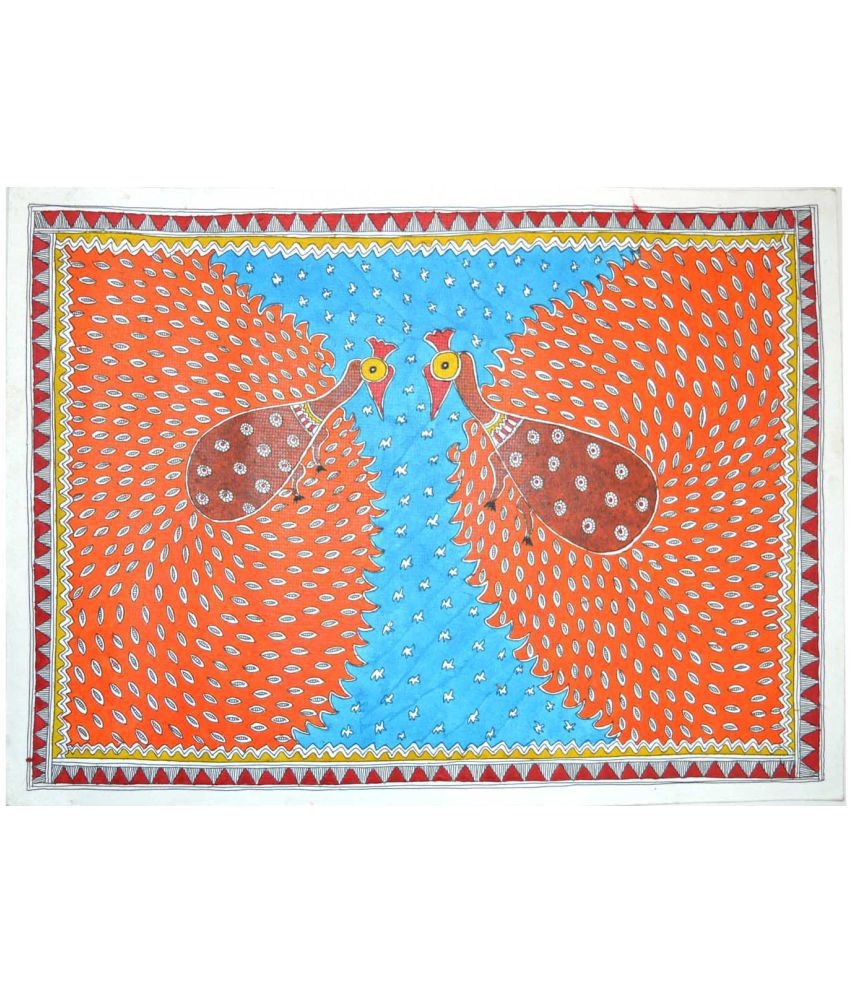 Craftuno Traditional Madhubani Painting Depicting
