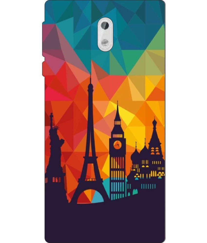 Nokia 3 Printed Cover By Go Hooked