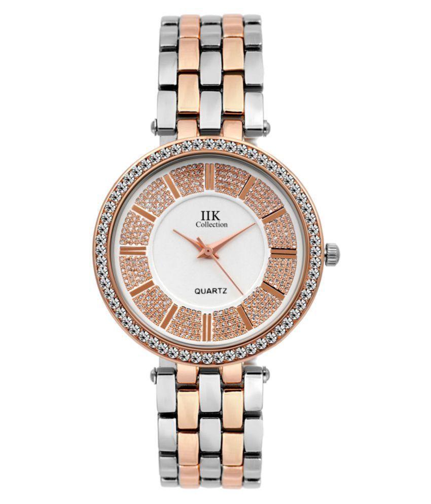 IIK Collection Stylish  Analog Wrist Watch For Women & Girls   (IIK-1053W)