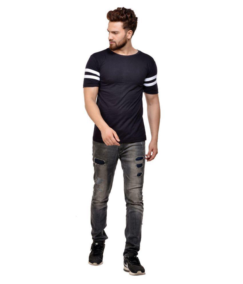 JSCK Blue Round T-Shirt