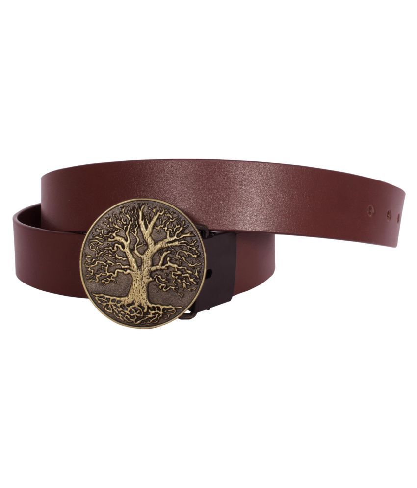 Sri Brown Leather Casual Belts