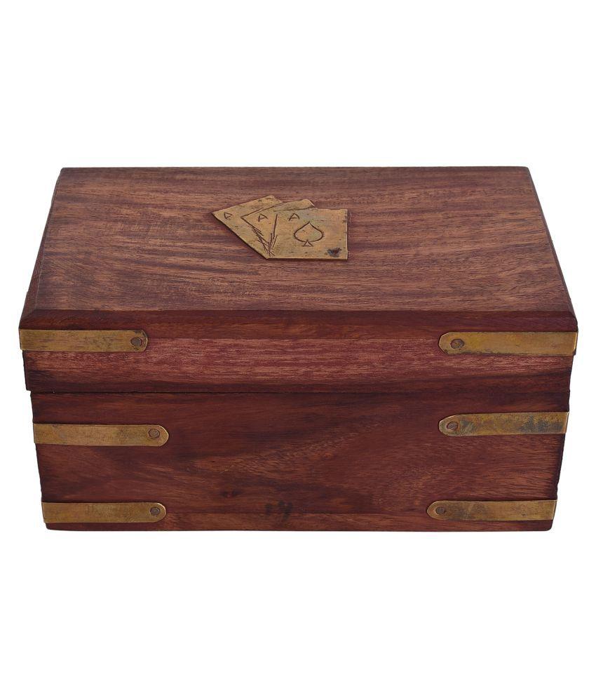 Craft Trade Brown Wooden Box