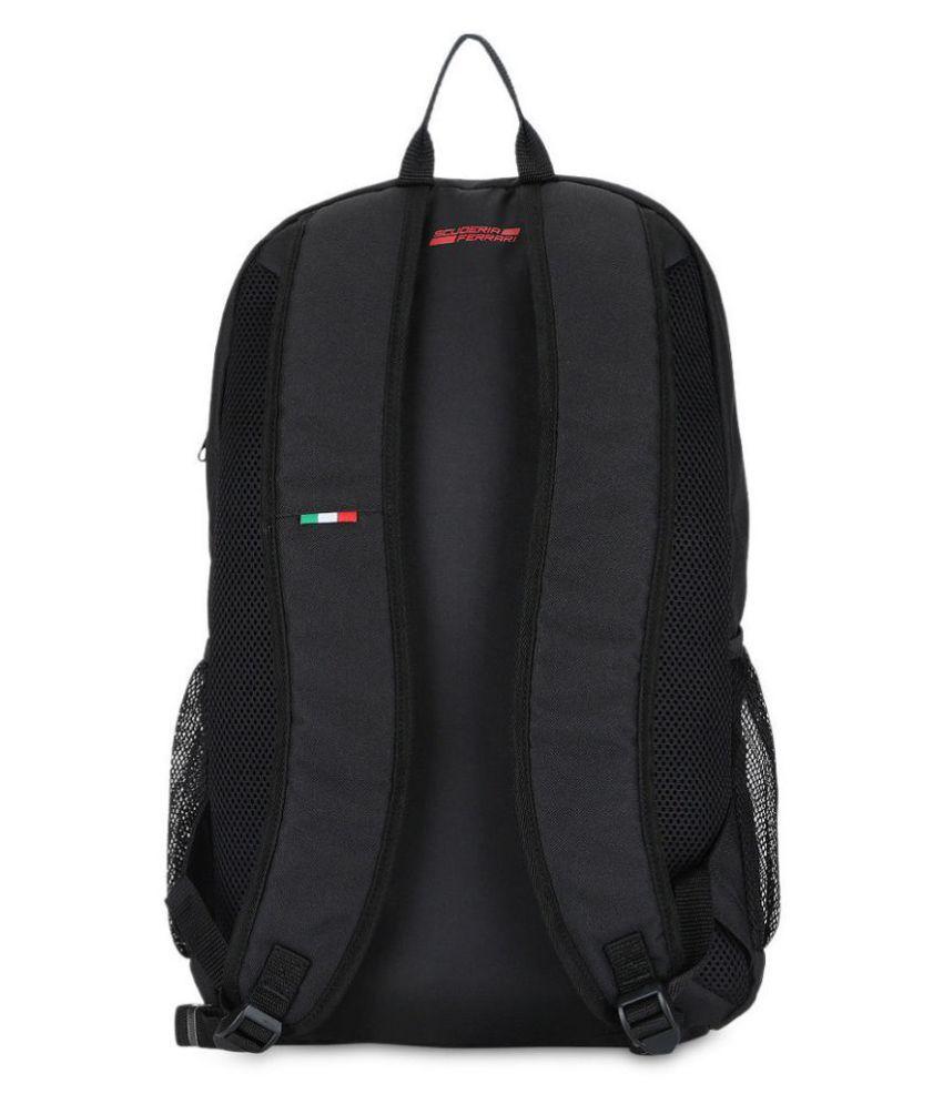 a34c812166bf Puma Black Ferrari Fanwear Backpack - Buy Puma Black Ferrari Fanwear  Backpack Online at Low Price - Snapdeal