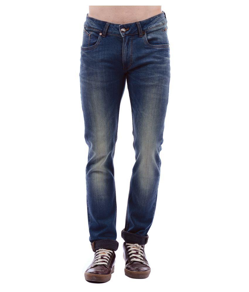 Ed Hardy Blue Slim Jeans