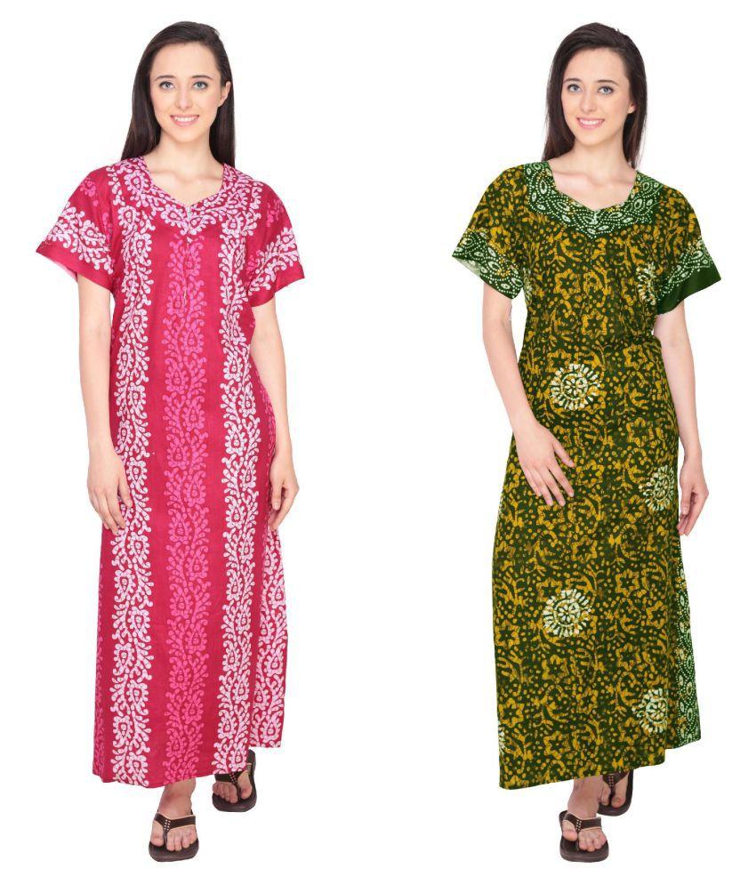 Simrit Cotton Nighty & Night Gowns