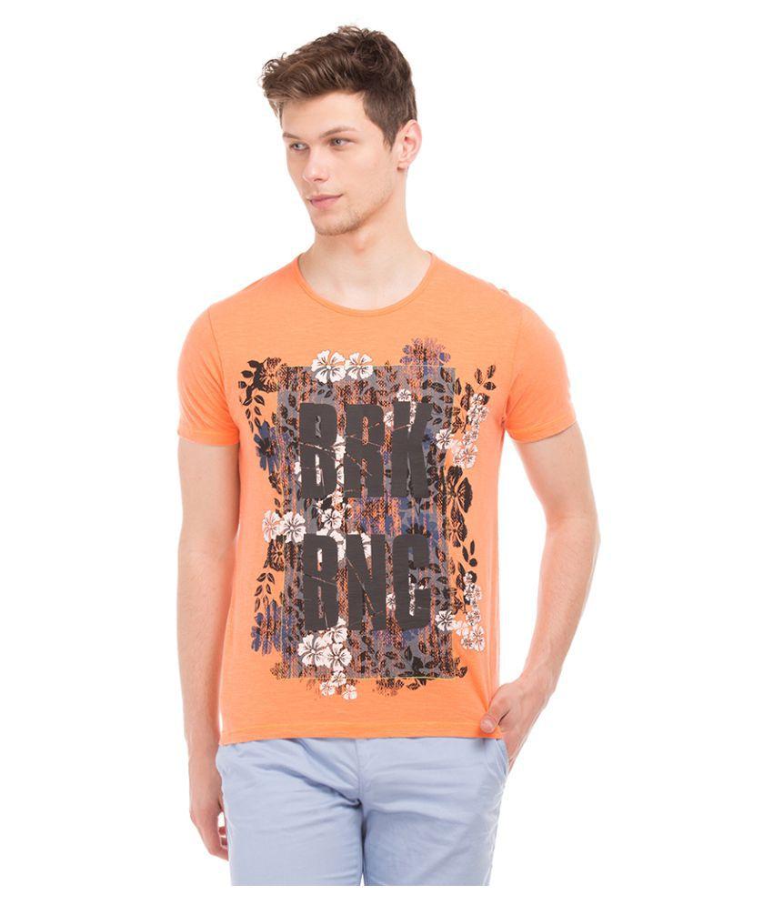 Breakbounce Grey Round T-Shirt