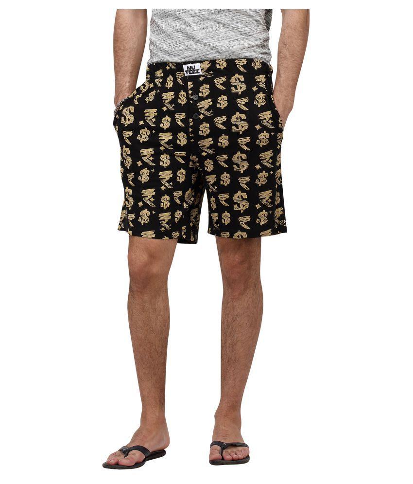 Nuteez Black Shorts