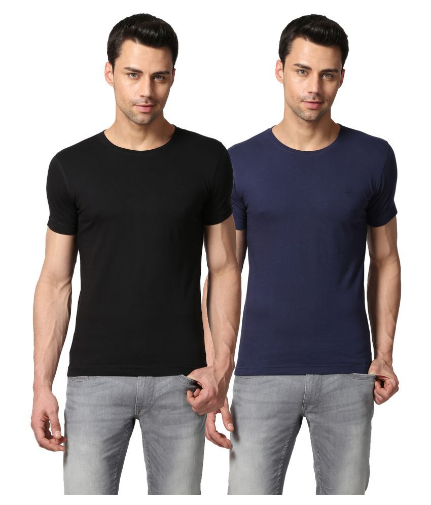 Goat Multi Round T-Shirt Pack of 2