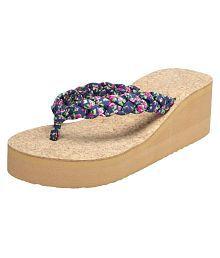 Vaniya Shoes Multi Color Wedges Heels
