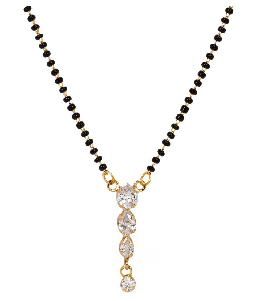 Jewels Gold Antique Simple Latest Traditional Stylish Mangalsutra ...