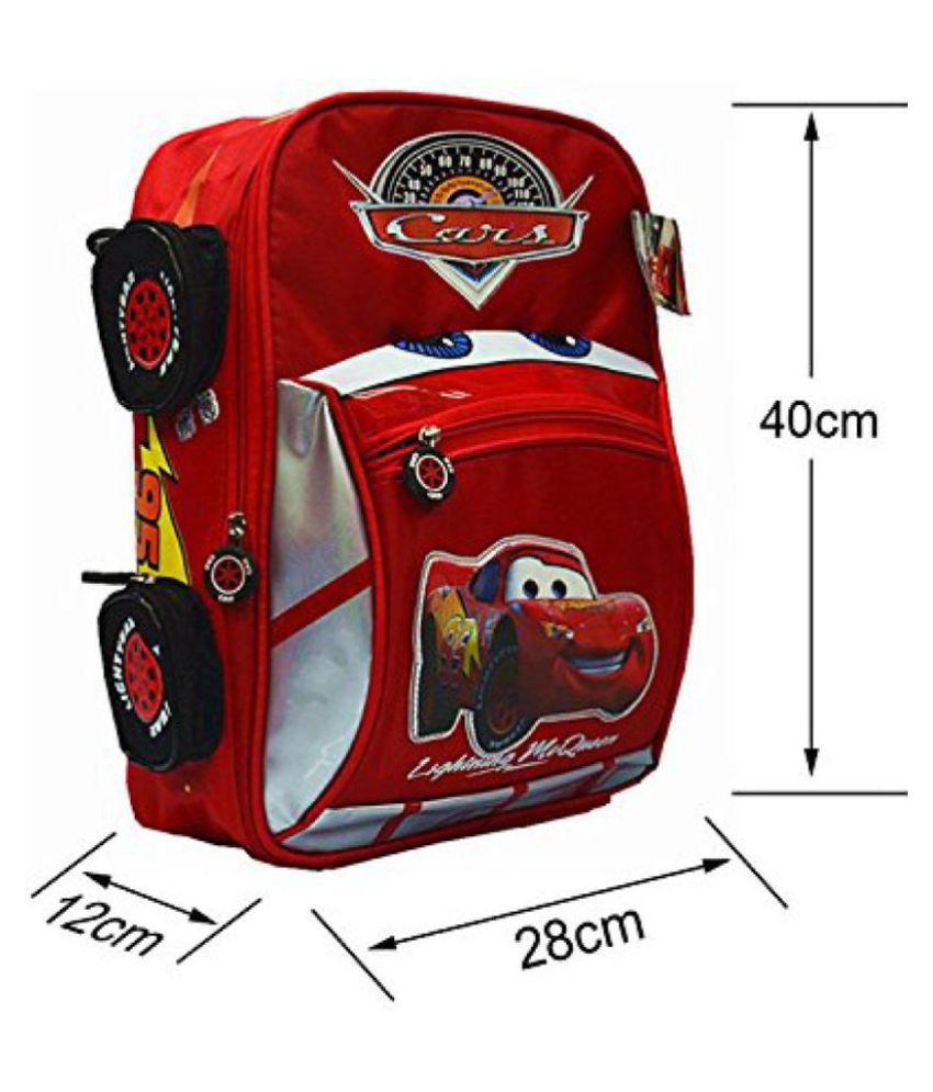 85bcaeaa08a1 ... School Backpacks - Disney Cars Lightning Kids Children Boys Toddlers  Boy Cartoon Zipper Shoulder Backpack- ...