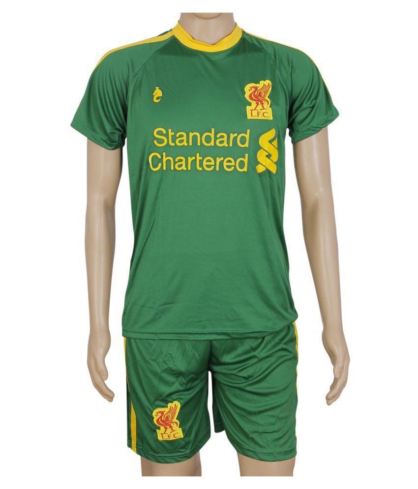 RetailWorld Green Polyester T-Shirt Single Pack