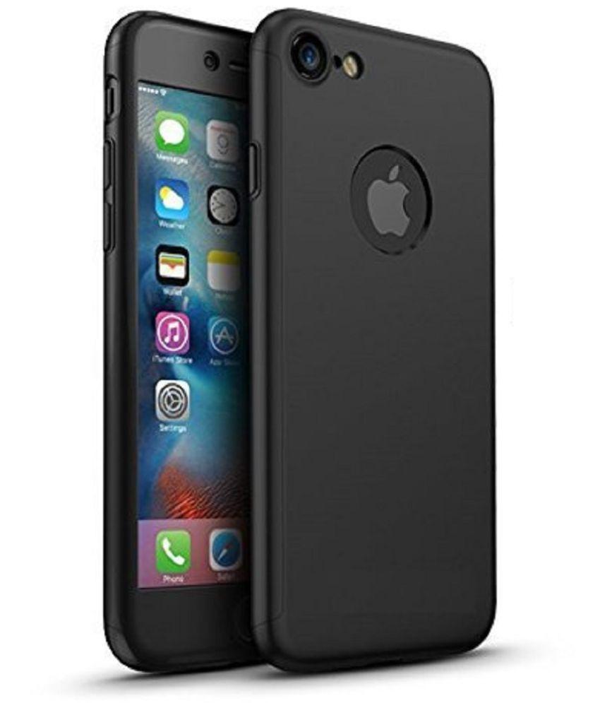 Apple iPhone 7 Plus Plain Cases JAP - Black