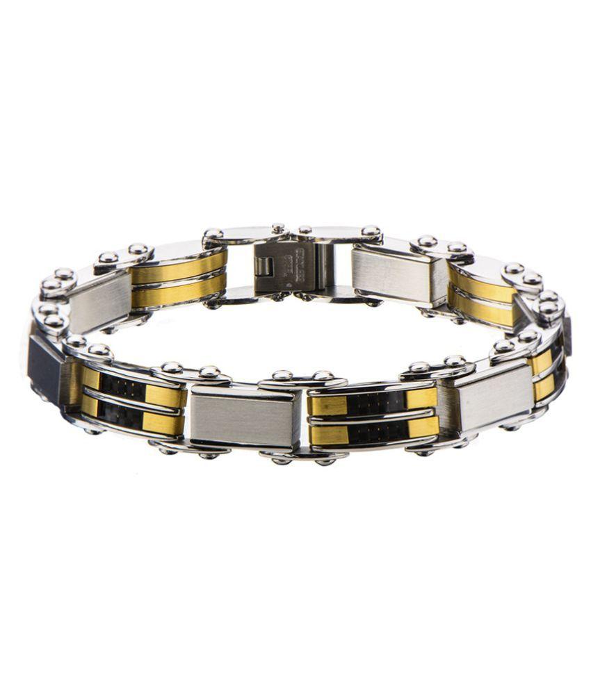 Inox Jewelry Multicolour Stainless Steel Bracelet