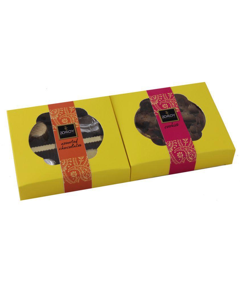 ZOROY LUXURY CHOCOLATE Assorted Chocolate Box Diwali 350 gm