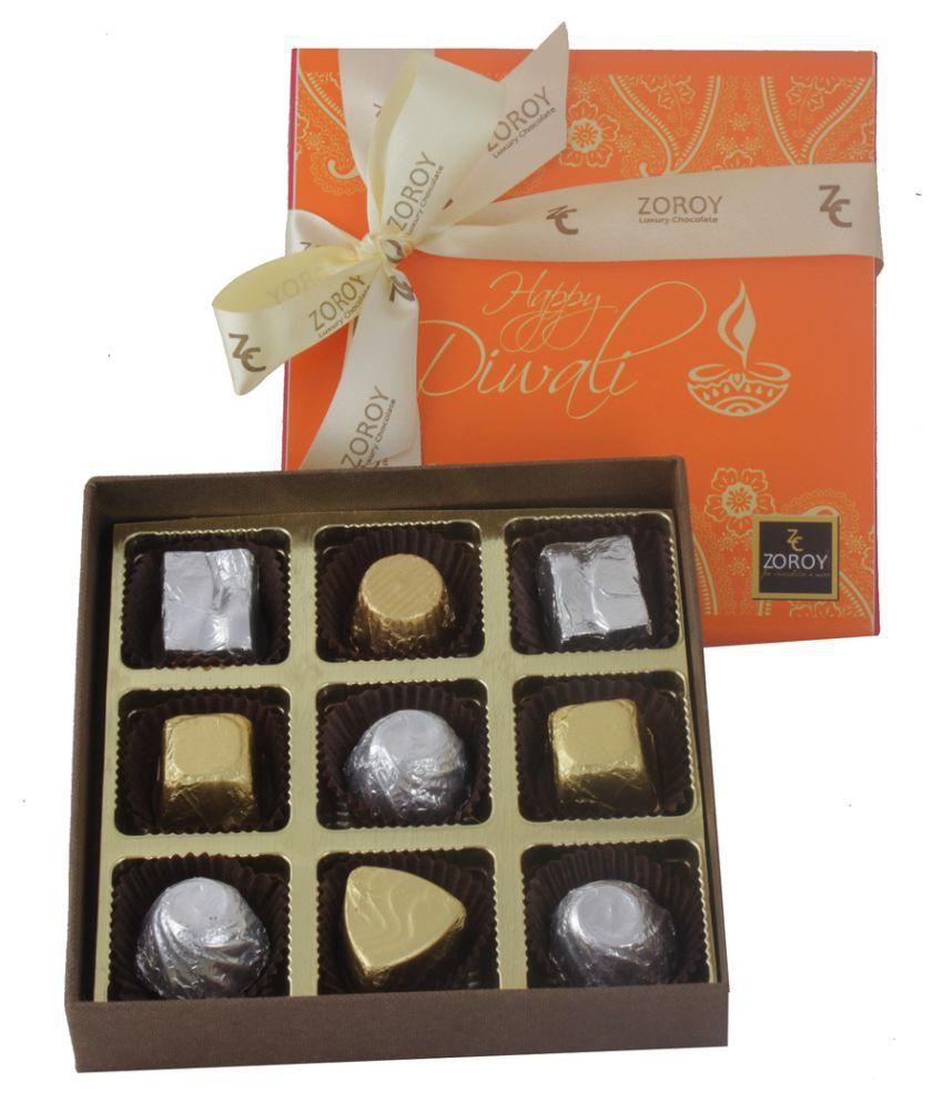 ZOROY LUXURY CHOCOLATE Assorted Chocolate Box Diwali 300 gm