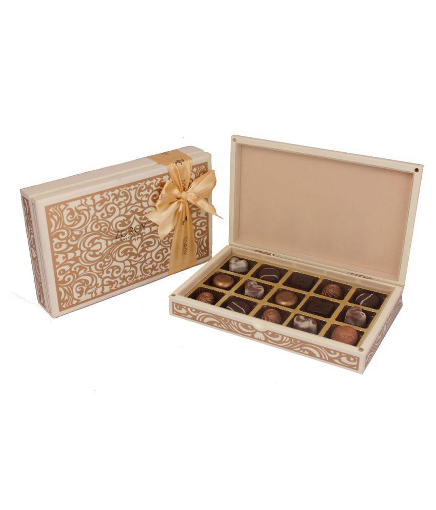 ZOROY LUXURY CHOCOLATE Assorted Chocolate Box Diwali 650 gm