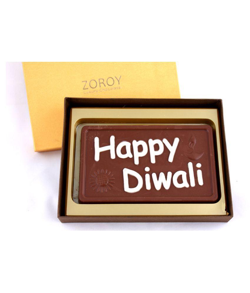 ZOROY LUXURY CHOCOLATE Chocolate Box Diwali 500 gm