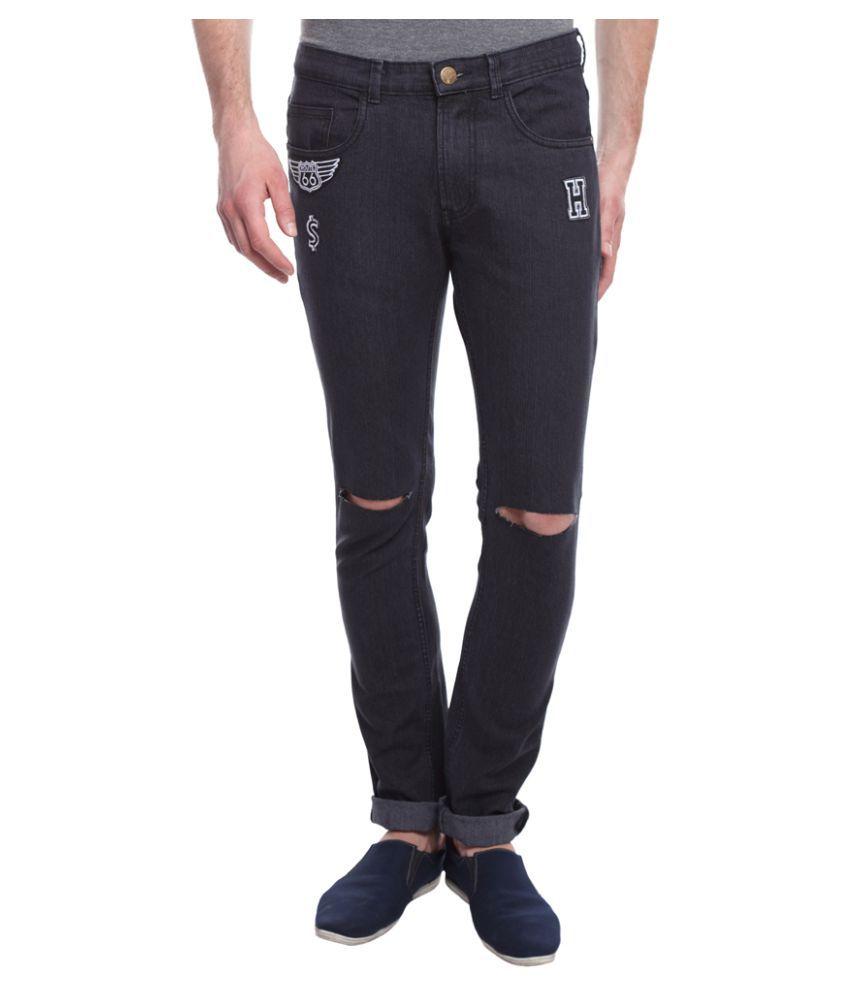 I-Voc Black Slim Jeans