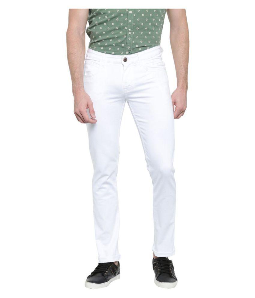 Duster White Skinny Jeans